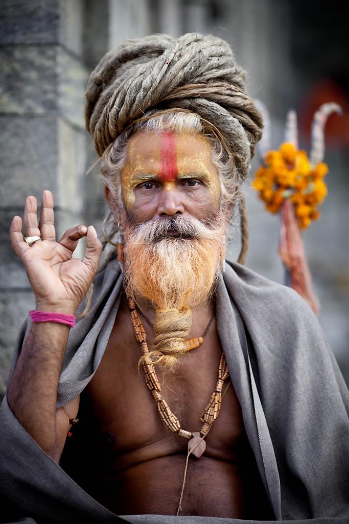 Zdjęcia: Kathmandu,  , Święty dla turysty, NEPAL