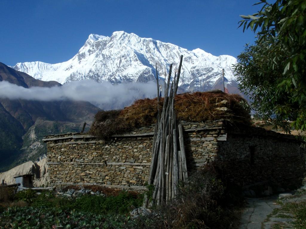 Zdjęcia: Annapurna III, Himalaje, Poranek, NEPAL