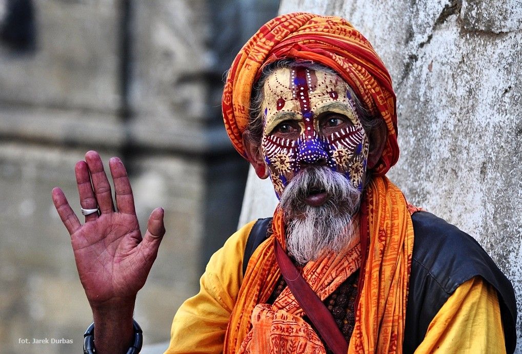Zdjęcia: Pashupatinath, Dolina Kathmandu, Sadhu, NEPAL
