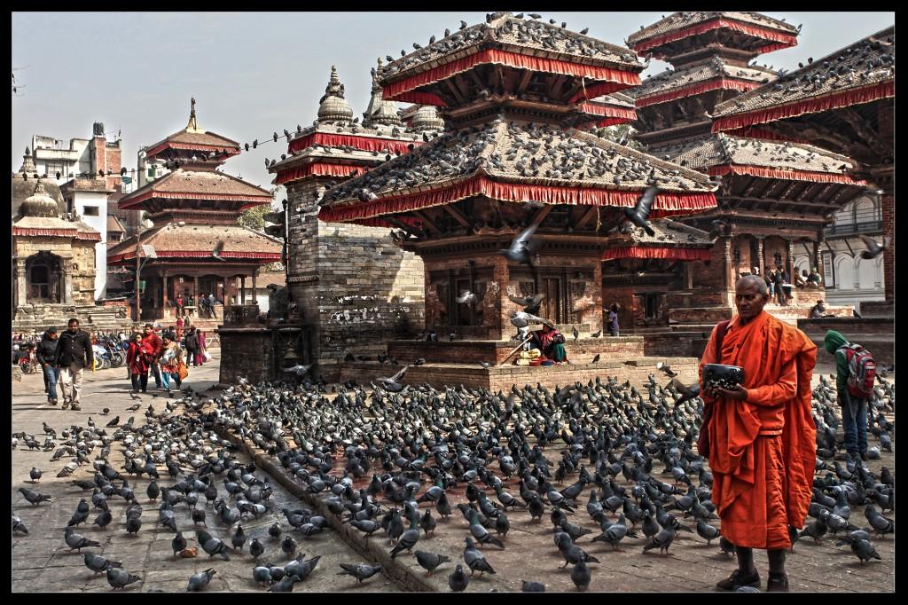 Zdjęcia: Durbar Square, Kathmandu, Niestety, tego miejsca już nie ma!, NEPAL