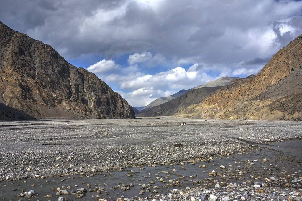 Zdjęcia: Okolica Jomsom, Gandaki, Dolina rzeki Kali Gandaki, NEPAL