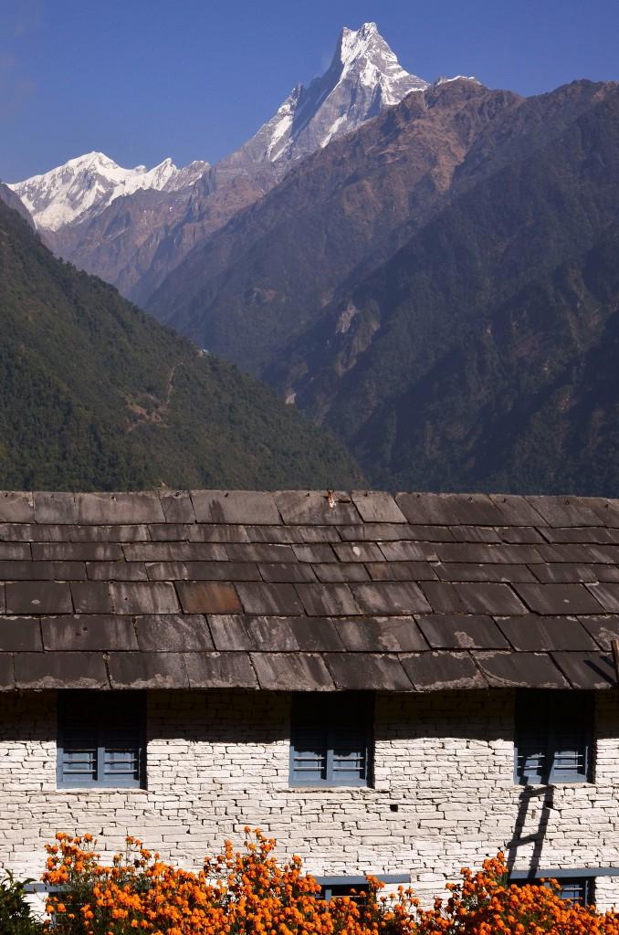 Zdjęcia: Annapurna Region, Centralny Nepal , Machhapuchhare, NEPAL