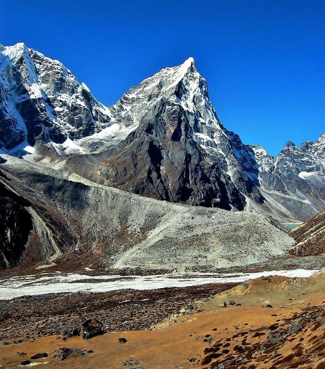 Zdjęcia: Taboche Peak, Himalaje Khumbu, Arakam Tse, NEPAL