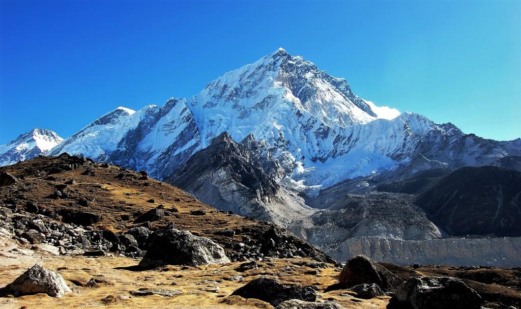 Zdjęcia: Nuptse, Himalaje, Sagarmatha Himal (Mt. Everest), Niższy brat Lhotse, NEPAL