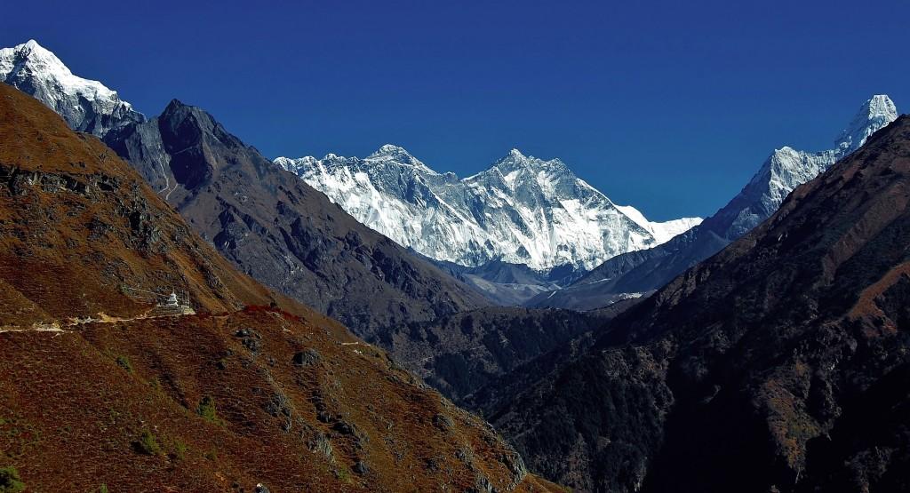 Zdjęcia: Ponad Namche Bazaar, Himalaje, Mt. Everest po raz pierwszy!. , NEPAL