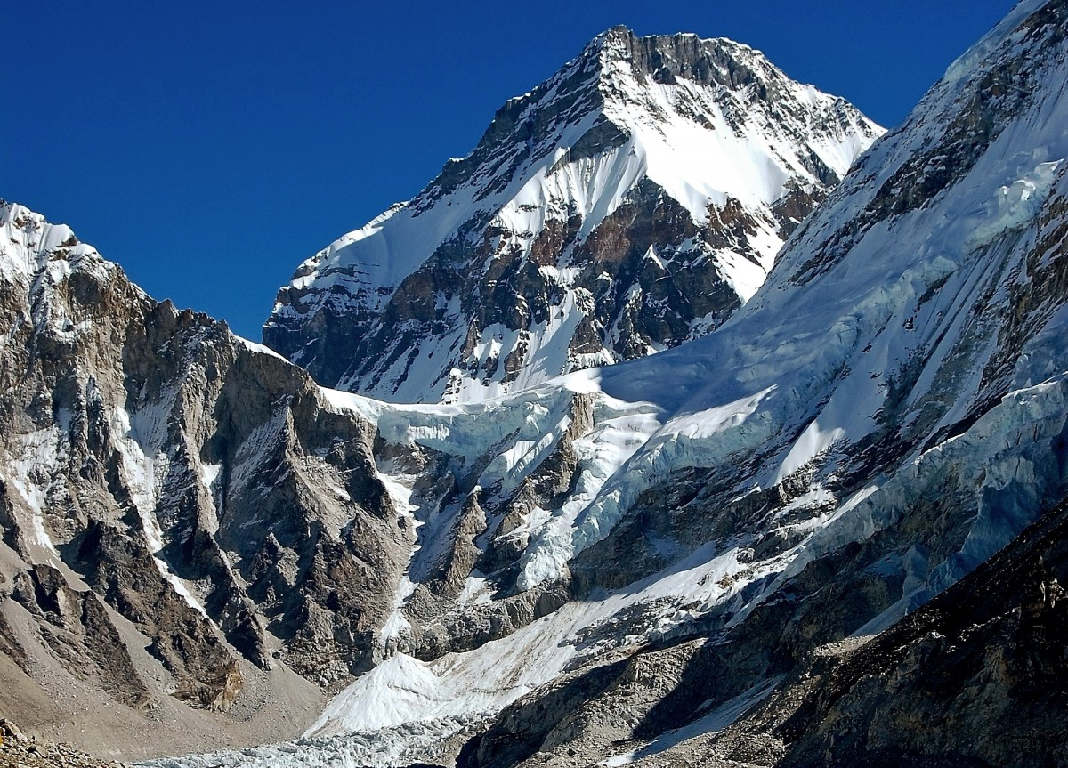 Zdjęcia: w drodze do Everest BC, Himalaje, Sagarmatha Himal (Mt. Everest), Changtse (tybetański Szczyt Północny), NEPAL