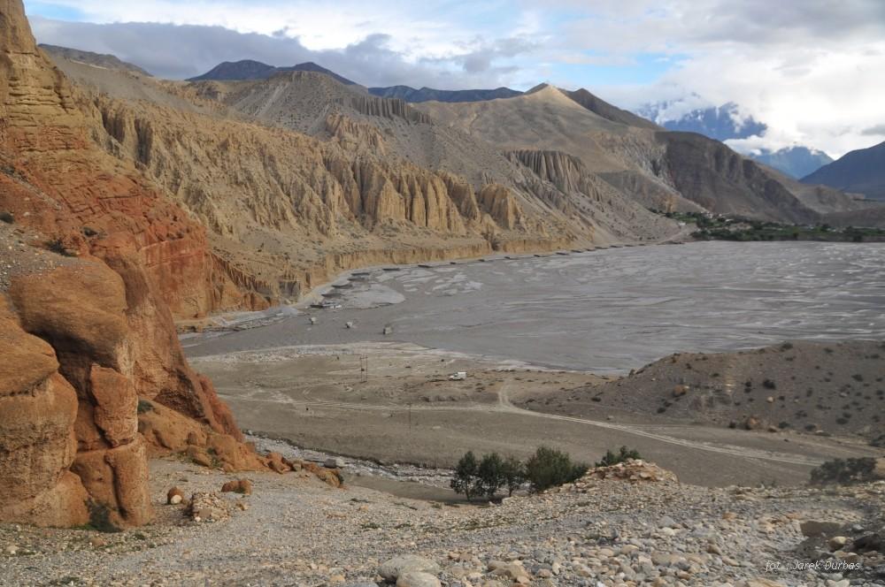 Zdjęcia: widok z wioski Chele, Mustang, Kali Gandaki, NEPAL