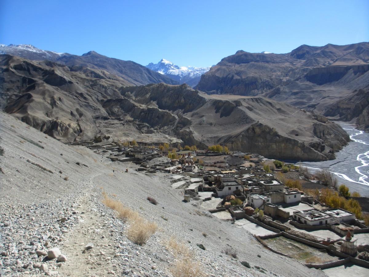 Zdjęcia: Tange, Mustang, Ukryte Tange, NEPAL
