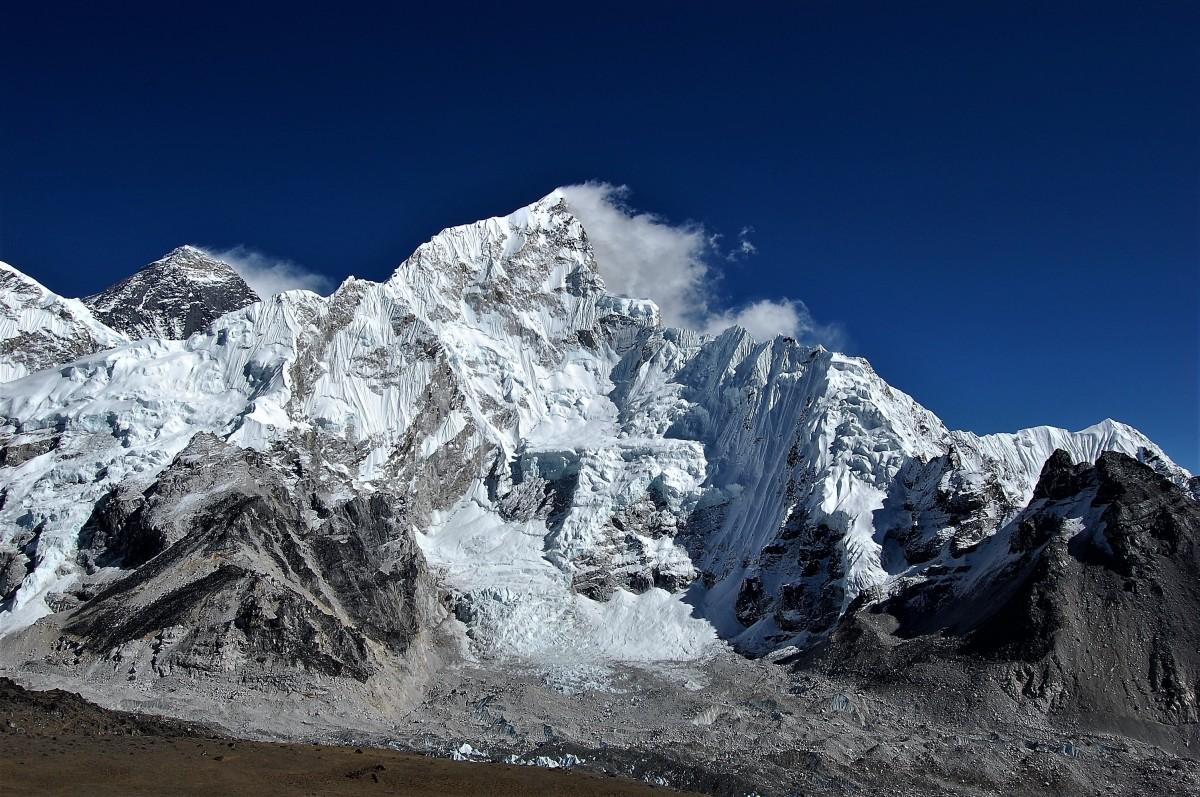 Zdjęcia: widok ze szczytu Kala Pattar, Himalaje, Sagarmatha Himal, Mt. Everest i Nuptse, NEPAL