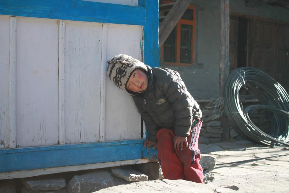 Zdjęcia: Chame, Nepal Srodkowy Annapurna, Trekking  Annapurna Circuit, NEPAL