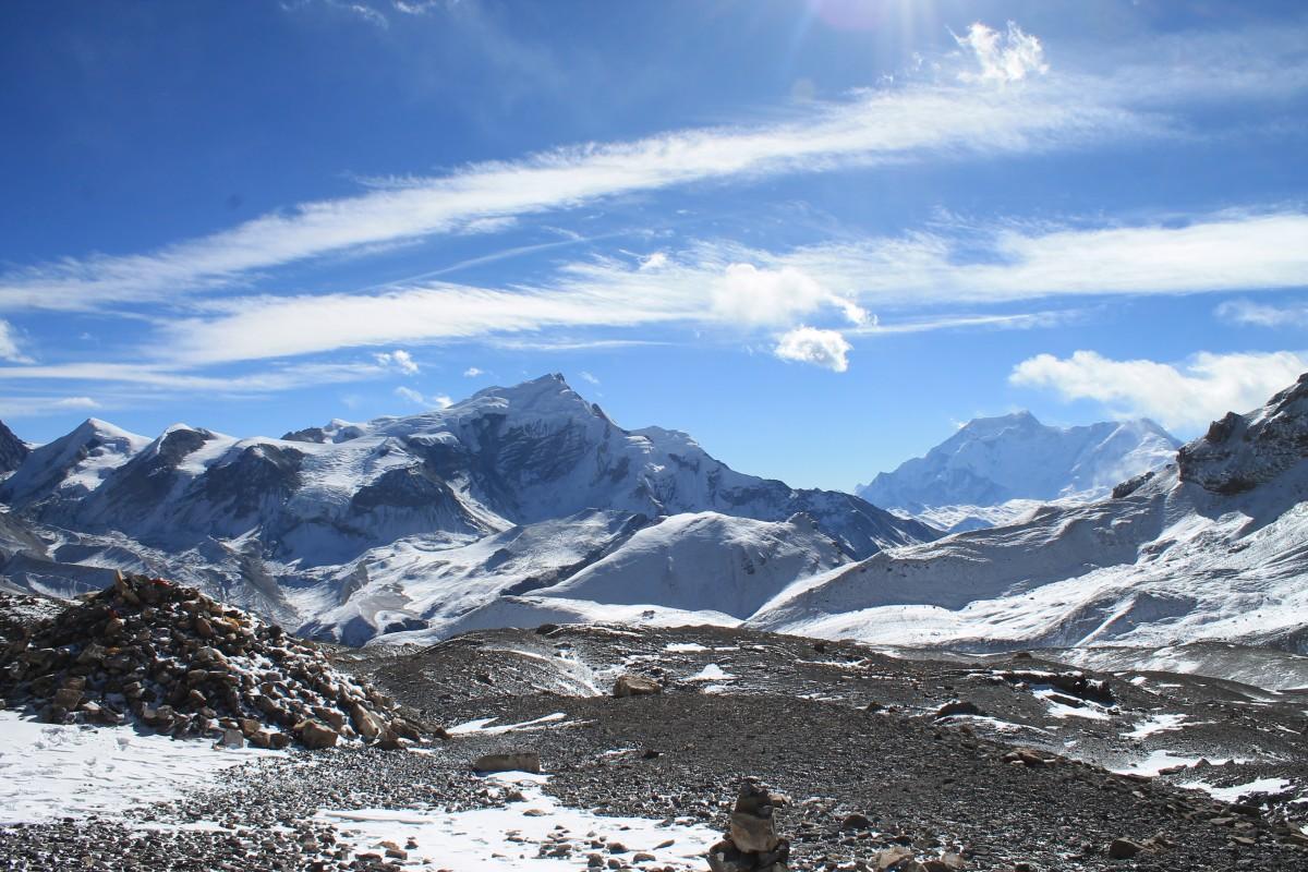 Zdjęcia: Przelecz Thorung La, Nepal Srodkowy Annapurna, Trekking  Annapurna Circuit, NEPAL