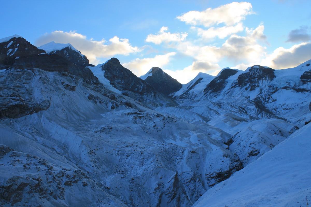 Zdjęcia: Troche powyzej Thorung La Camp-4925, Nepal Srodkowy Annapurna, Trekking  Annapurna Circuit, NEPAL