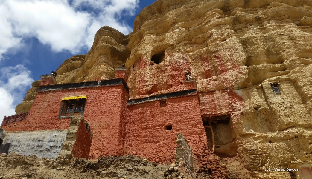 Zdjęcia: Dolina Choser, Mustang, Choser gompa, NEPAL