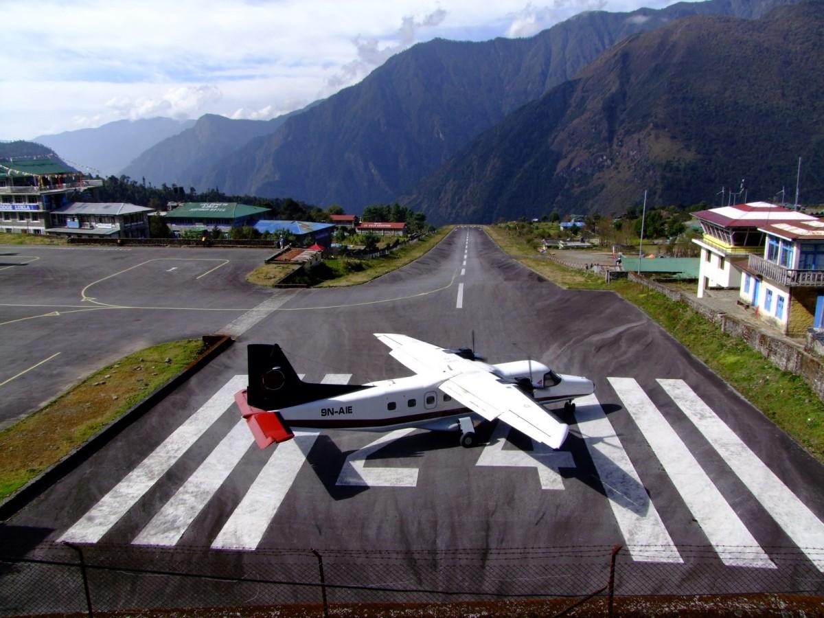 Zdjęcia: Lukla, Khumbu, Przygoda - oczekiwanie na start, NEPAL