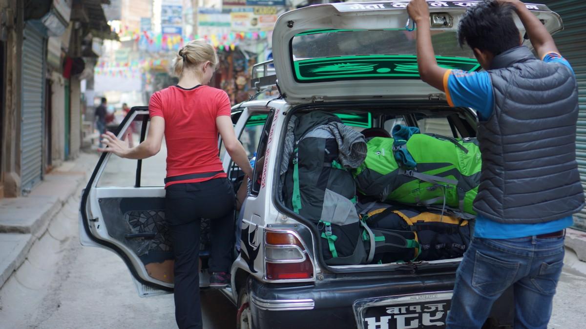 Zdjęcia: Thamel, Kathmandu, W drodze na lotnisko w Kathmandu, NEPAL