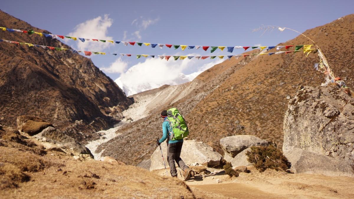 Zdjęcia: Gokyo, Khumbu, w drodze do Gokyo2, NEPAL