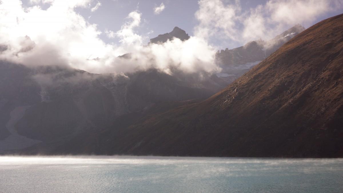Zdjęcia: Gokyo, Khumbu, Gokyo lake, NEPAL