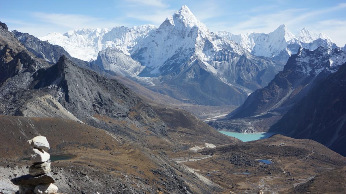 Zdjęcia: Cho la, Khumbu, Cho la pass, NEPAL