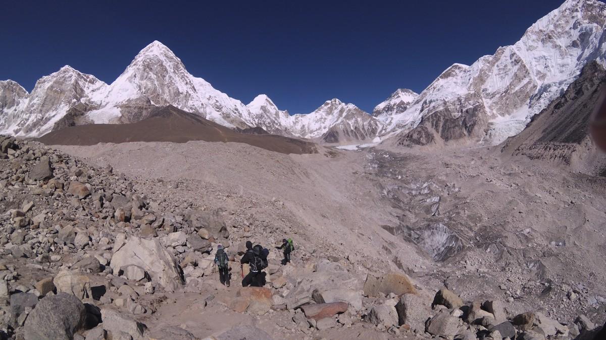 Zdjęcia: Gorak Shep, Khumbu, w drodze do Gorak Shep, NEPAL