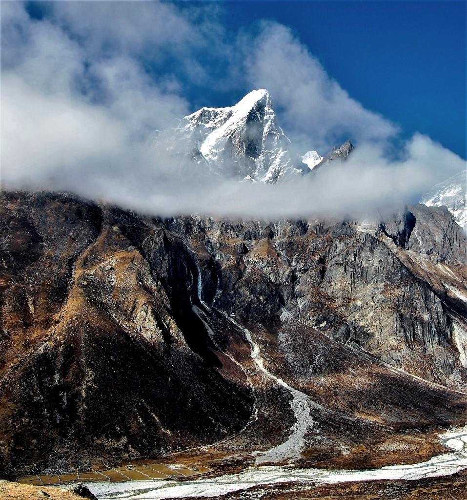 Zdjęcia: osada Dusa, Himalaje, rejon Ama Dablam, Taboche Peak, NEPAL