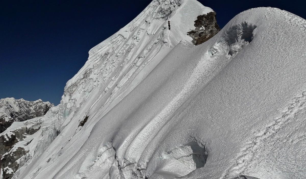 Zdjęcia: Grań szczytowa, Himalaje, Sagarmatha Himal,  Lobuche, NEPAL