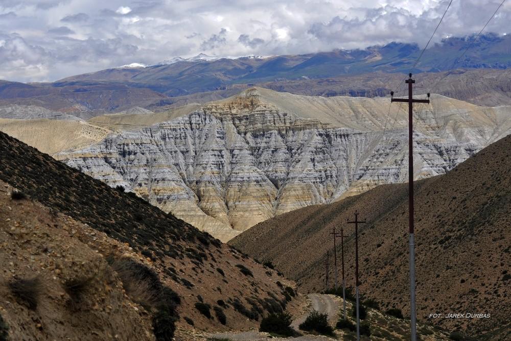 Zdjęcia: na szlaku, Mustang, Krajobraz Mustangu, NEPAL