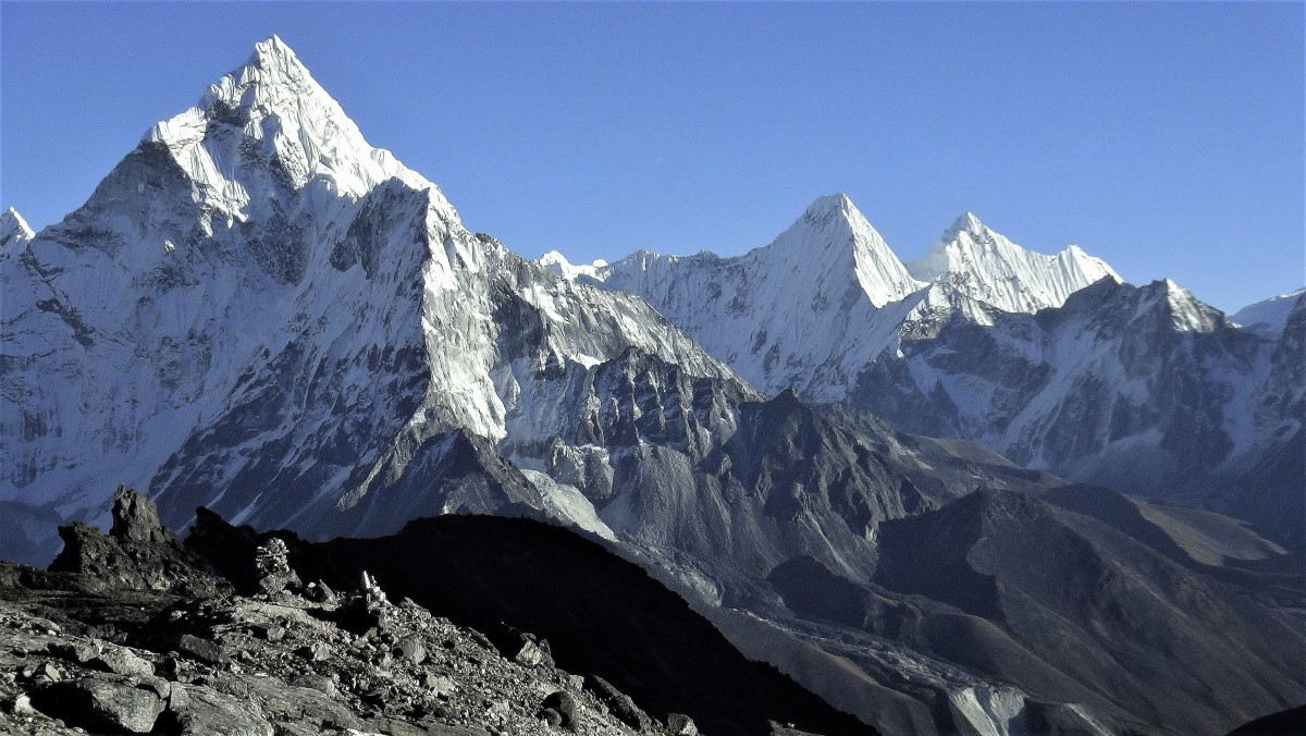 Zdjęcia: Lobuche East, Himalaje, Ama Dablam , NEPAL