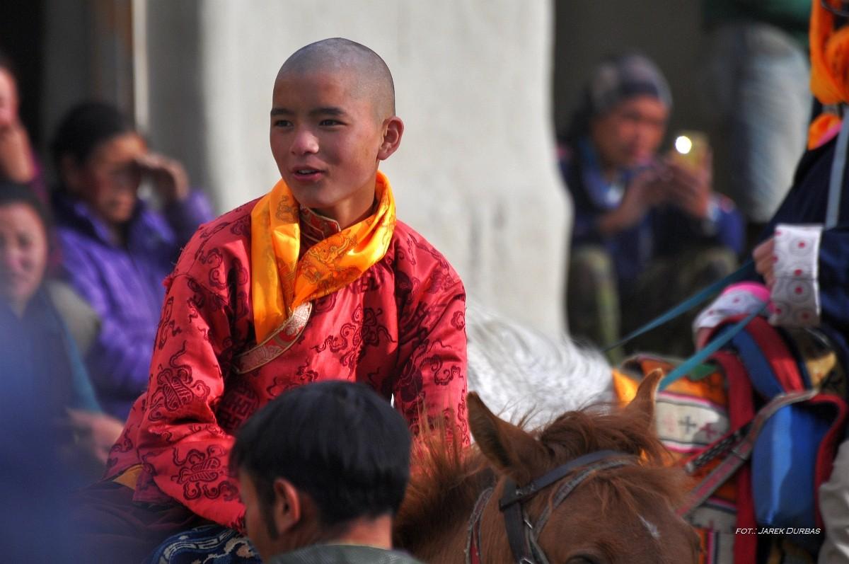 Zdjęcia: LoMantang, Upper Mustang, Mały Buddha , NEPAL