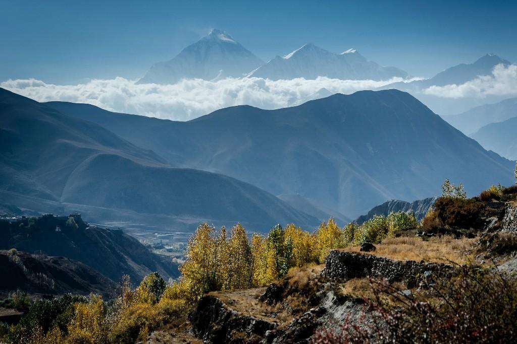 Zdjęcia: Jhong, Mustang, nad chmurami..., NEPAL