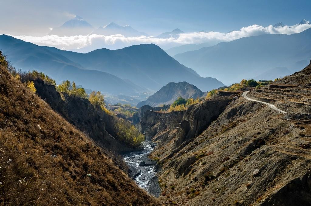 Zdjęcia: Jhong, Mustang, rzeka..., NEPAL