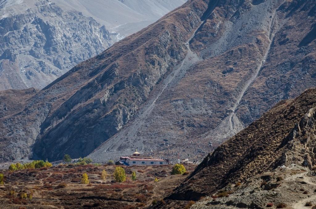 Zdjęcia: Muktinath, Dolny Mustang, świątynia..., NEPAL