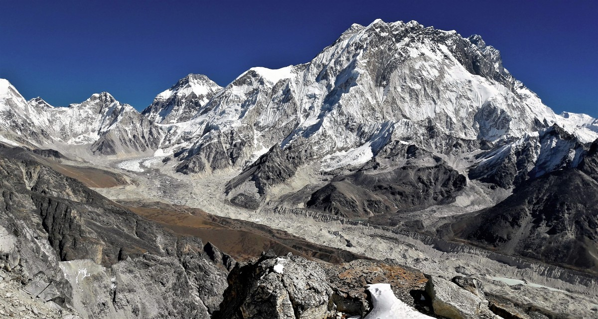 Zdjęcia: Lobuche East, Himalaje, Sagarmatha Himal, Lodowiec Khumbu, NEPAL