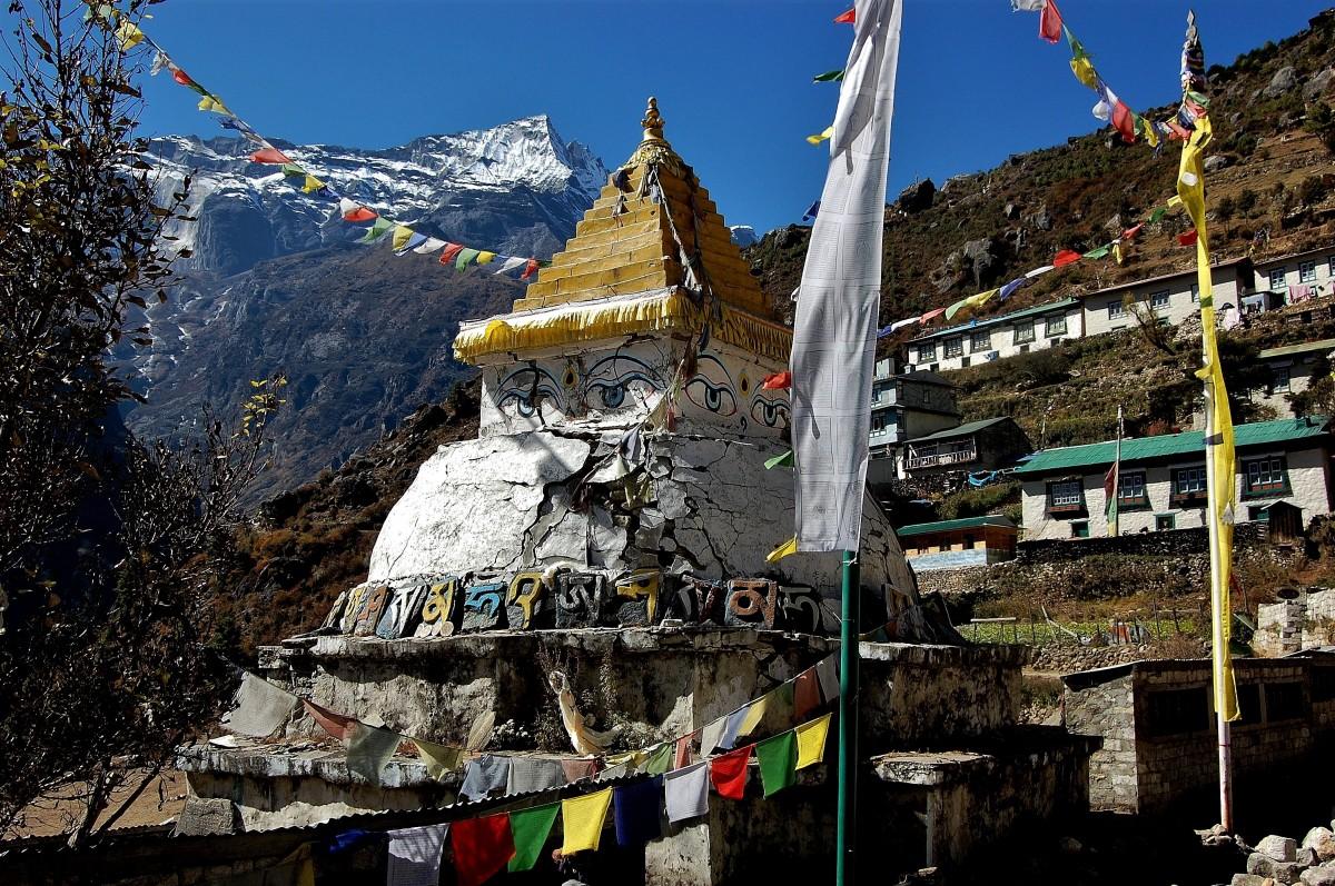 Zdjęcia: Namcze Bazar, Himalaje, Kongde Ri  , NEPAL