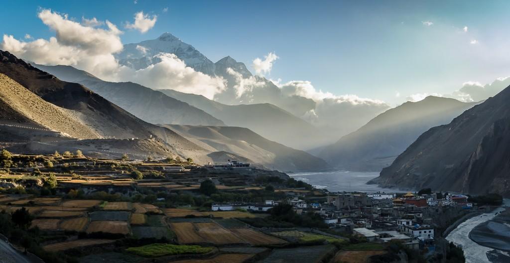Zdjęcia: Dolina Kali Gandaki, Mustang, granica..., NEPAL