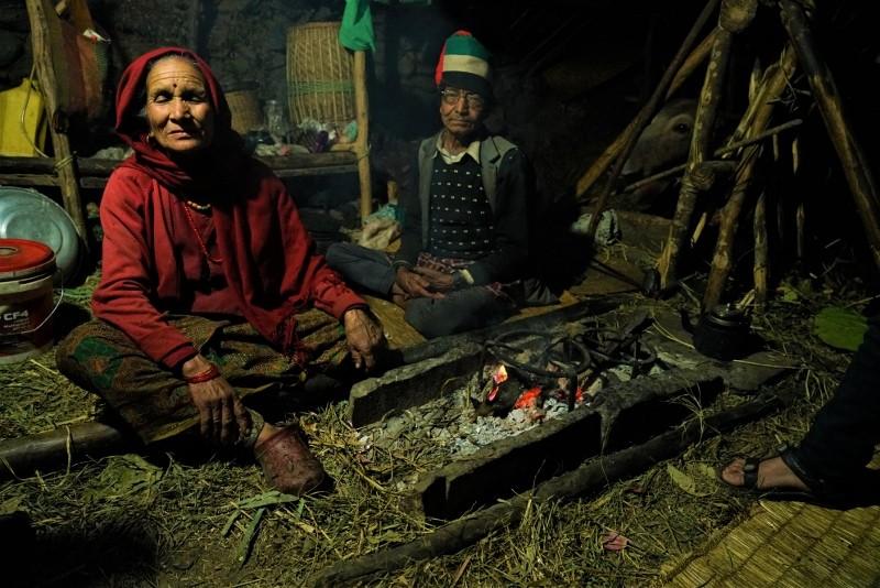 Zdjęcia: Wioska po drodze na MArdi Hima, Pokhara, Domowe ognisko, NEPAL