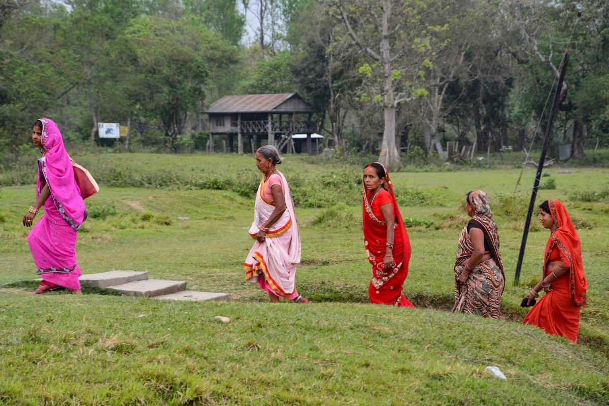 Zdjęcia: dolina katmandu, kobiety nepalu, NEPAL