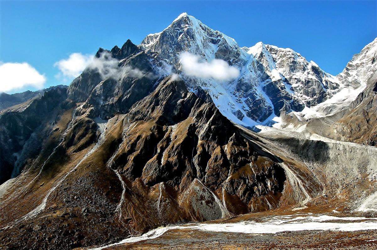 Zdjęcia: okolice osady Dusa, Himalaje, Taboche Peak, NEPAL