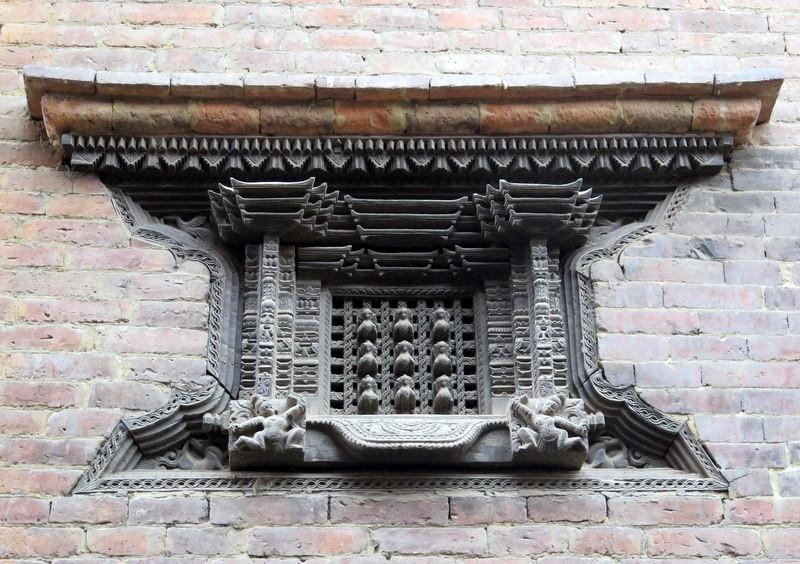 Zdjęcia: Bhaktapur, Nepal, Kotlina Katmandu, Detal architektoniczny, Durbar Square Bhaktapur. Nepal, NEPAL