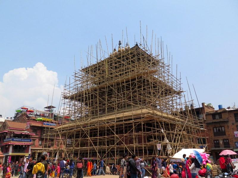 Zdjęcia: Bhaktapur, Nepal, Kotlina Katmandu, Durbar Square Bhaktapur. Nepal, NEPAL