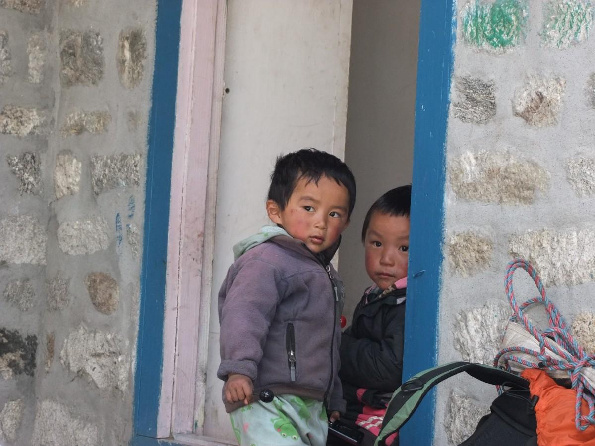 Zdjęcia: Himalaje, Khumbu, Dzieciaki, NEPAL