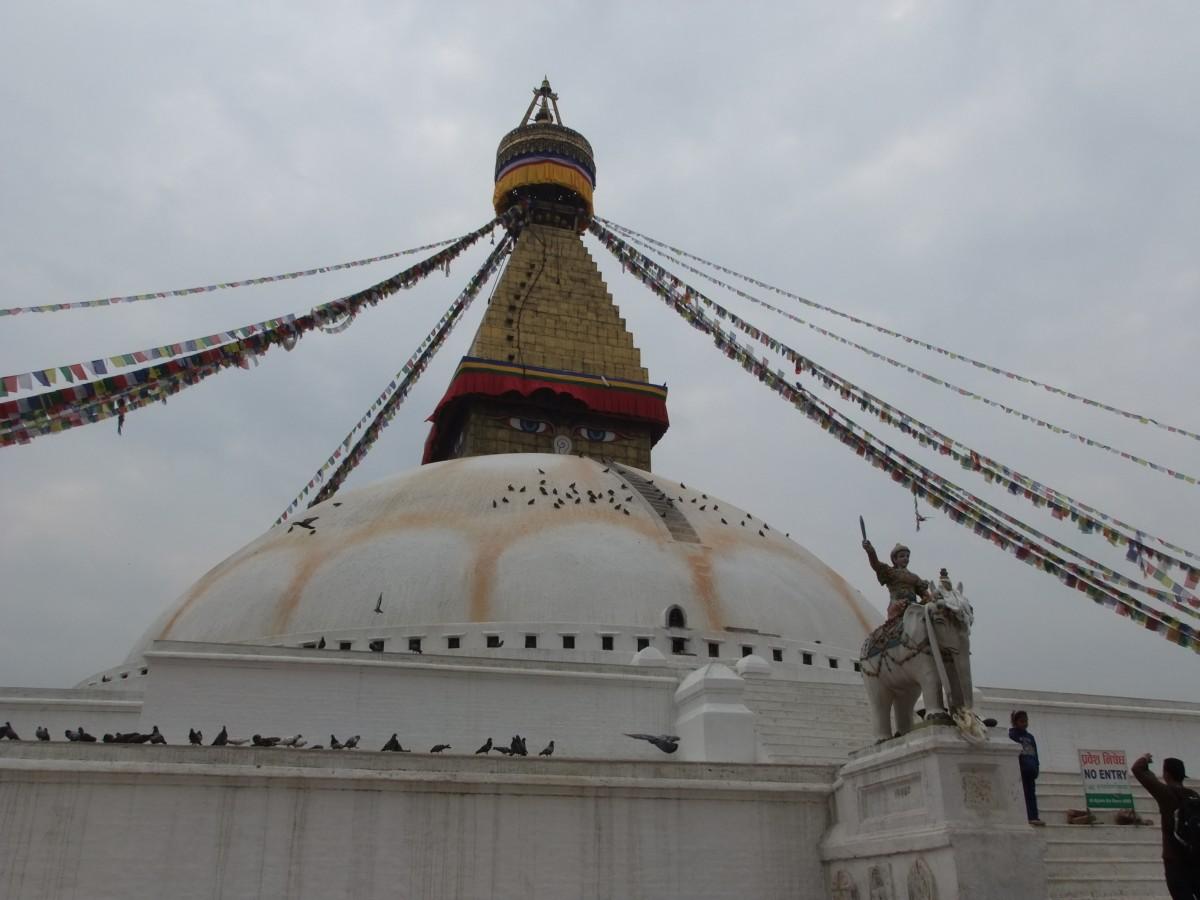 Zdjęcia: Kathmandu, Kathmandu, Stupa Bodnath, NEPAL