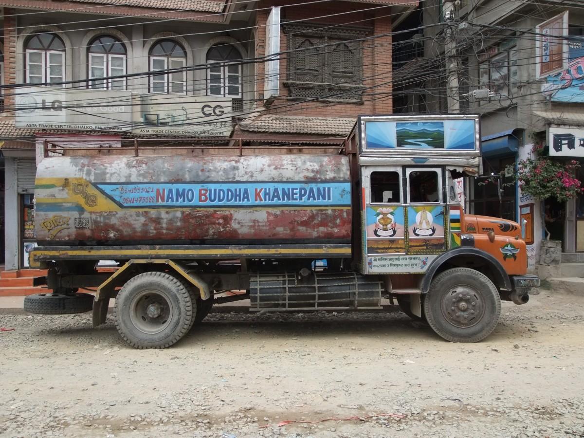 Zdjęcia: Kathmandu, Kathmandu, Dostawa wody, NEPAL