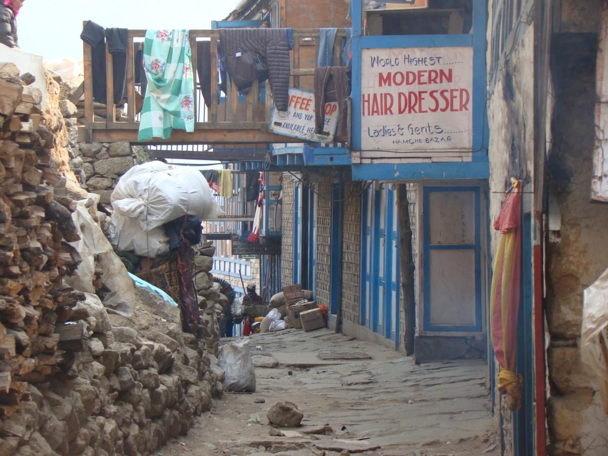 Zdjęcia: Namche Bazar, Himalaje, Namche, NEPAL