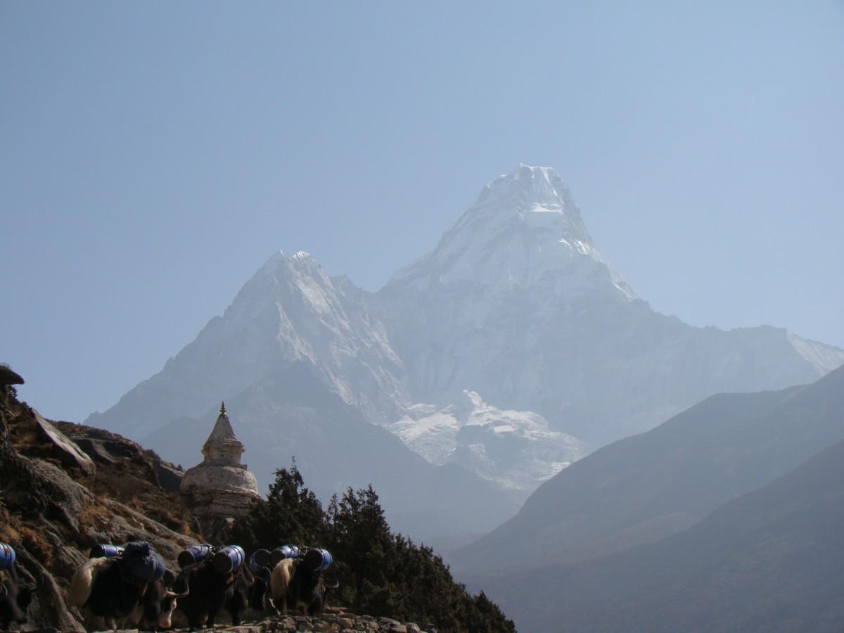 Zdjęcia: Himalaje, Himalaje, Ama Dablam, NEPAL