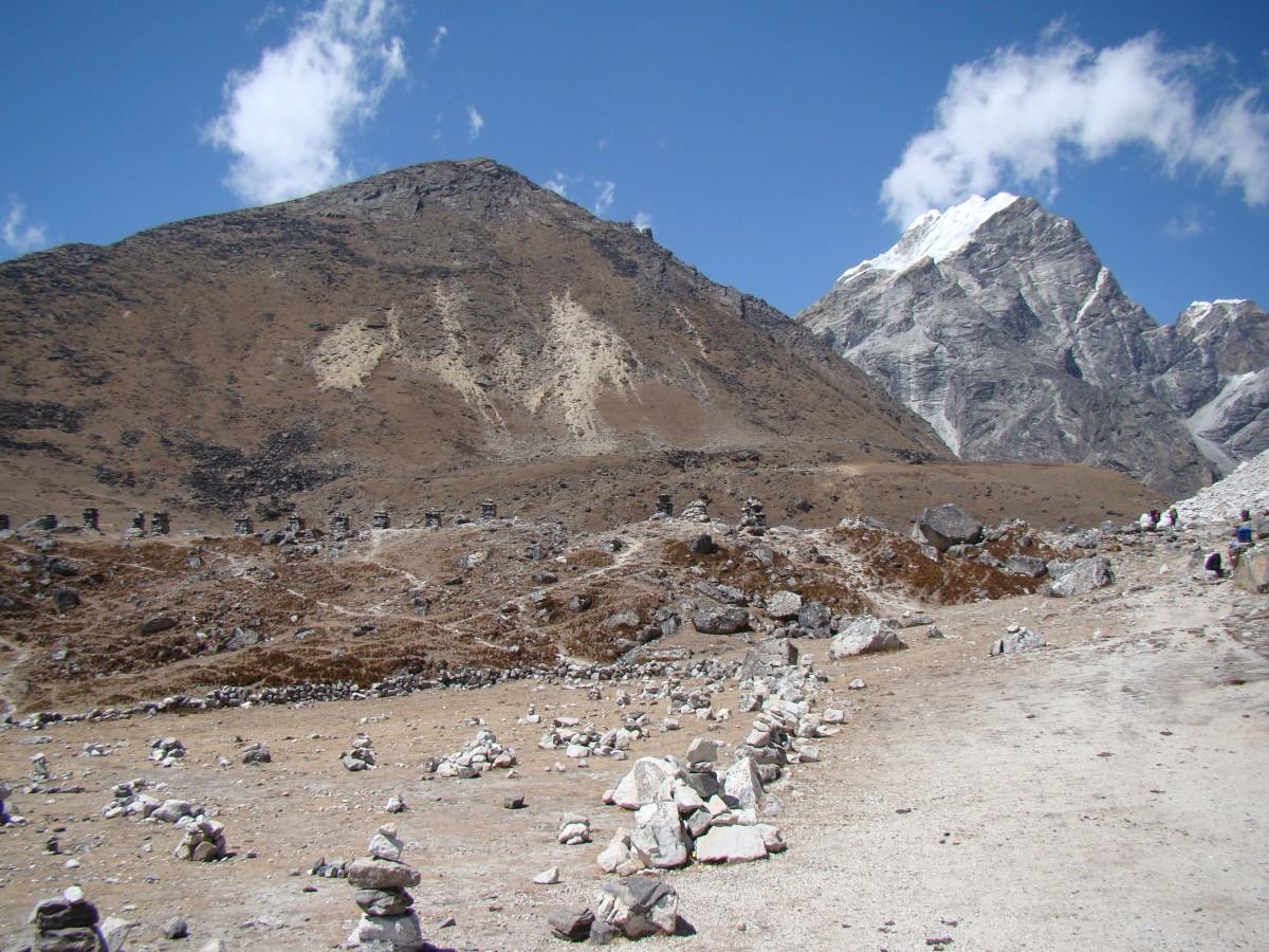 Zdjęcia: Dolina Khumbu, Himalaje, Czorteny, NEPAL