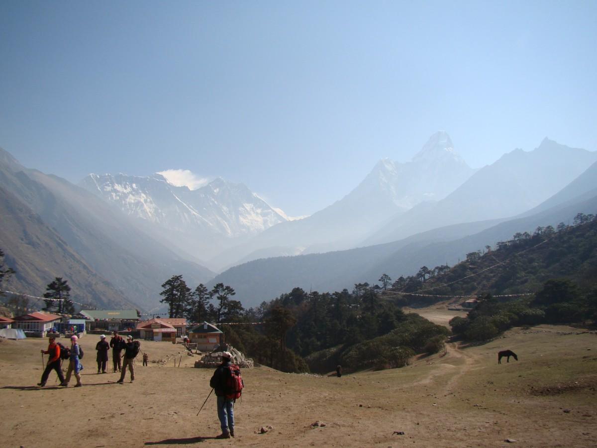 Zdjęcia: Tengboche, Himalaje, Everest, Lhotse, Ama Dablam, NEPAL