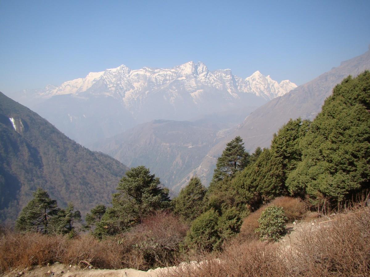 Zdjęcia: Tengboche, Himalaje, Kongde Ri, NEPAL