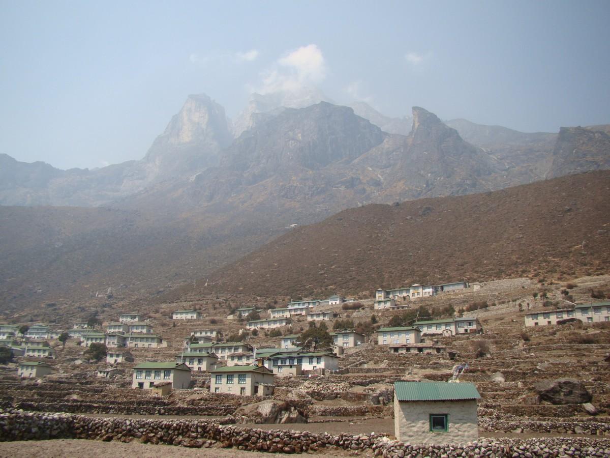 Zdjęcia: Khumjung, Himalaje, Wioska Khumjung, NEPAL