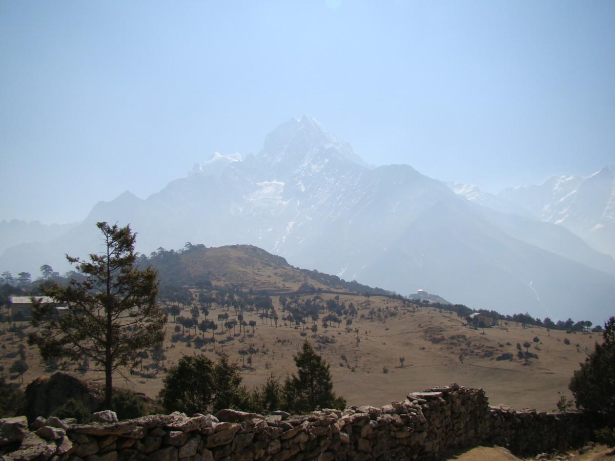 Zdjęcia: Khumjung, Himalaje, Thamserku, NEPAL