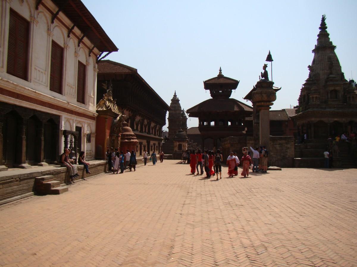 Zdjęcia: Bhaktapur, Kathmandu, Tego chyba już nie ma po trzęsieniu ziemi w 2015, NEPAL